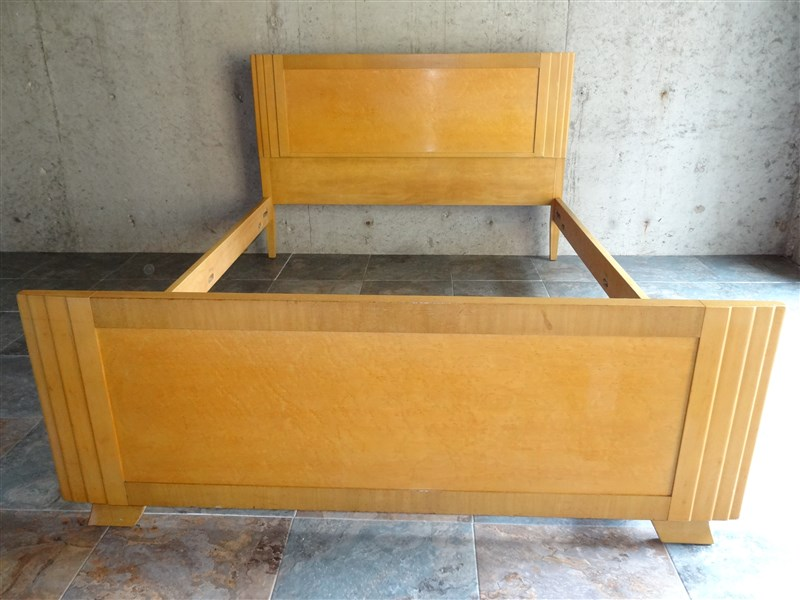 1940s 1950s Rway Northern Furniture Co Art Deco Full Size
